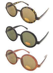 RETRO-Big-Lens-Round-Sunglasses-Vtg-90s-Grunge-Style-Glasses