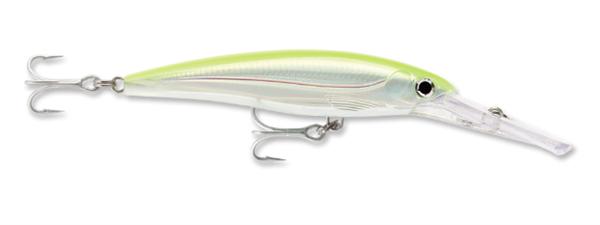Rapala XRMAG40S Magnum Silver 3//8 oz Fishing Jerkbait Freshwater Lure