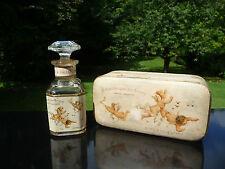 Flacon Ancien - BOUQUET DES AMOURS de R. & GALLET 1910  Coffret - Perfume Bottle