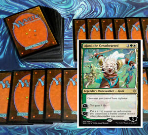 mtg-GREEN-WHITE-SELESNYA-DECK-Magic-the-Gathering-rares-60-cards-Standard-2020