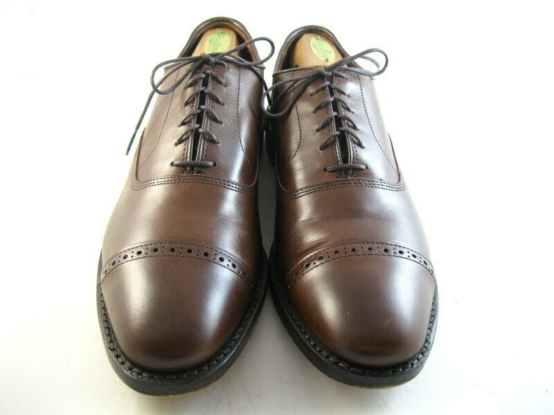 Allen Edmonds  Fifth Avenue   Oxfords 10.5 B Coffee  (1029)