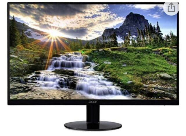 "Acer SB220Q bi 21.5"" FHD IPS Ultra-Thin Monitor"