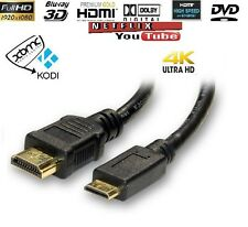 1.4 MINI C HDMI TO HDMI Cable For Digital Camcorder Tablet Mobile Phone 3DTV