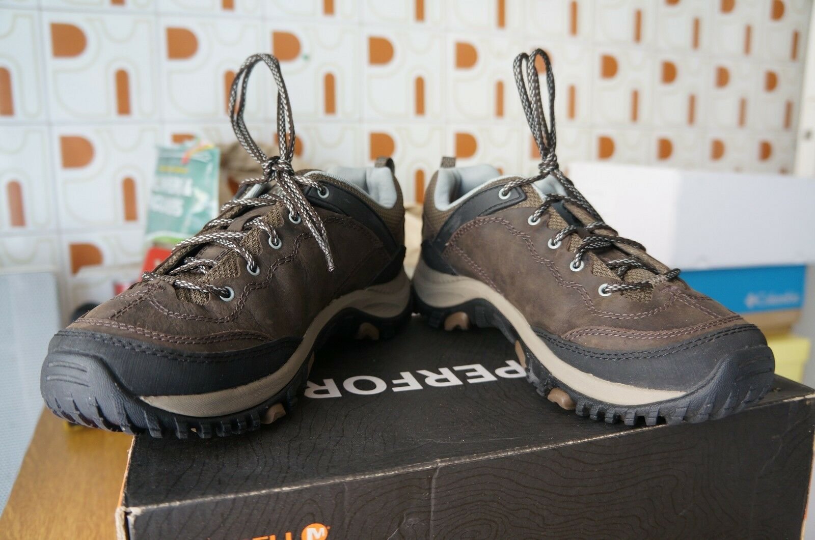 Merrell SALIDA TREKKER,  randonnée , uk marron, 38.5 EU 5.5 uk , 8 us 25 cm - ff5b35
