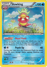 POKEMON Slowking 21/122 - XY Breakpoint - Rare Holo MINT/NM