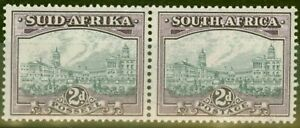 South-Africa-1941-2d-Slate-Grey-amp-Dull-Purple-SG58a-V-F-Lightly-Mtd-Mint