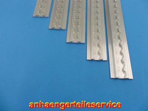 Airline Rotaia Alluminio zurrschiene 600x54x10mm quadrangolare diverse lunghezze l6036 Carrelli appendice e rimorchi