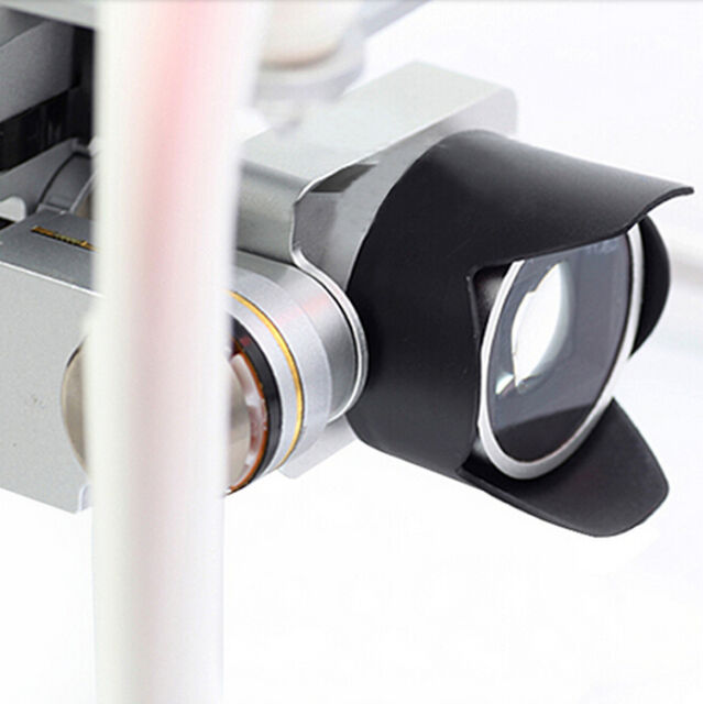 For DJI Phantom 4 3 Camera Cap Lens Cover Protector Sun Hood Petal Sunshade  mZ