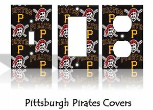 Details about Pittsburgh Pirates 2 Light Switch Covers Baseball MLB Home  Decor Outlet