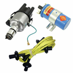 Adaptable Empi Vw 009 Street- Distributor W/points Ignition, Yellow Screamer Kit Kt-1004