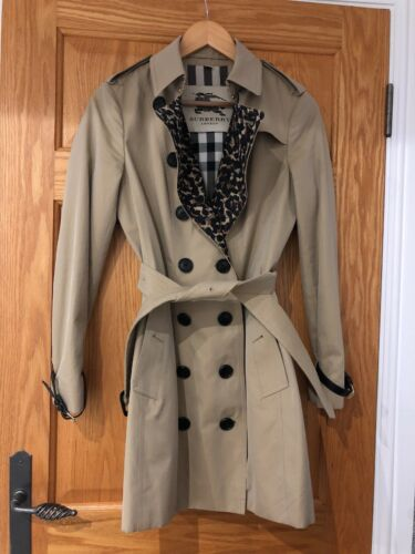 Trench Coat Leopard Limited Burberry Edition Lining Sandringham Fw51xqv