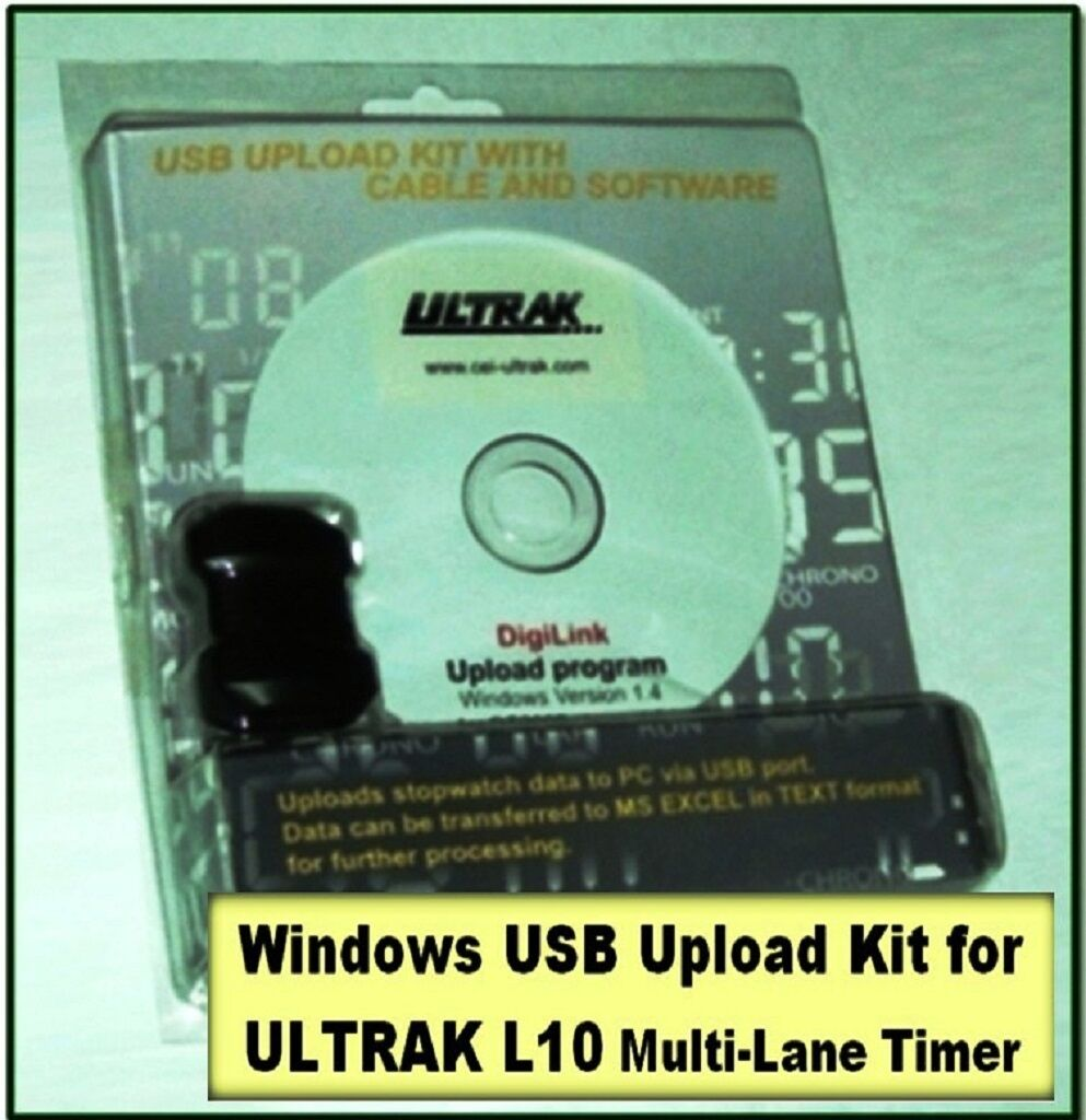 Ultrak L10-COMP Replacement Part Windows Interface Kit for L10 Multi-Lane Timer