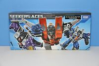 Transformers United Henkei Classics Seekers - ACES - BRAND NEW SEALED - MISB