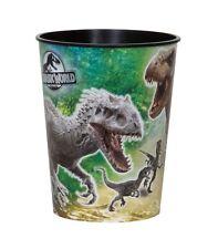 JURASSIC WORLD - 1 Plastic CUP 16oz - Birthday Party Tableware (Dinosaurs/Park)