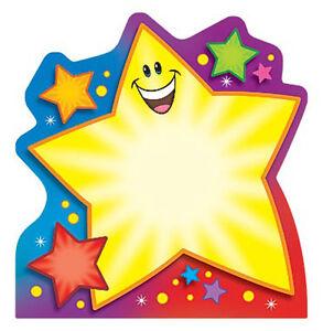 Childrens Kids Super Star Fun shaped Note Pad