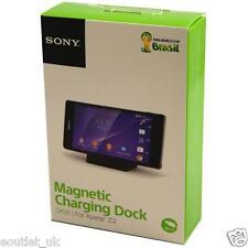 Genuine DK36 Sony Xperia Z2 Compact Magnetic Charging Desktop Dock - Black NEW