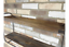 thumbnail 3 - Industrial-Style-Double-Wooden-Shelves