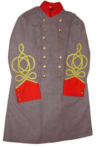 Civil War Confederate Artillery Colonel 3 Braids Frock Coat-All Sizes