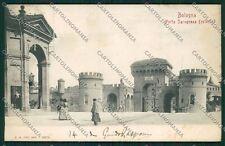 Bologna città Porta Saragozza cartolina QQ8980