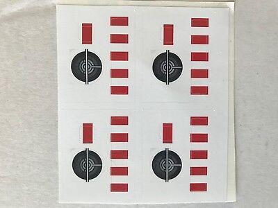 Missing Lego Brick 2743 Black x 4 Technic Wing Front