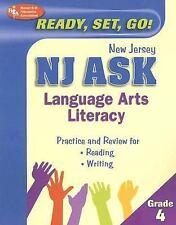 NJ ASK Grade 4 Language Arts Literacy (REA) (New Jersey ASK Test Prepa-ExLibrary