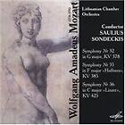 Wolfgang Amadeus Mozart - Mozart: Symphonies Nos. 32, 35 & 36 (2006)