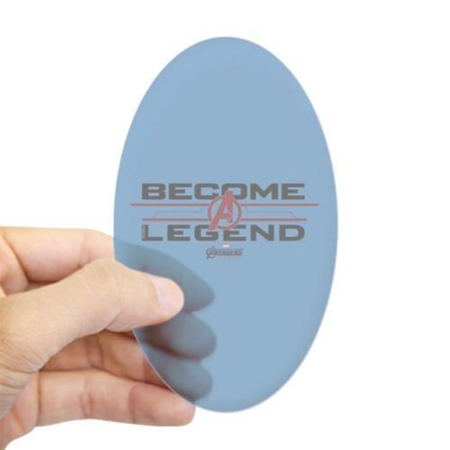 Oval 416999391 CafePress Avengers Endgame Become A Legend Sticker