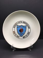 Rare Minquas Fire Co 75th Anniversary Collectors Plate 1982 Newport De Delaware