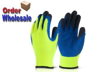 Latex Palm Coated Thermal Cold Winter Warm Grip Gloves B-Flex BF3 Thermo-Star
