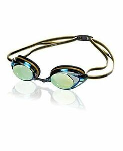 0535767fcd8e Speedo Vanquisher 2.0 Mirrored Swim Goggle Deep Gold 7750127 for ...