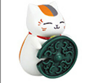 Natsume/'s Book of Friends Nyanko Sensei Lucky Cat Gold Phone Strap Licensed NEW