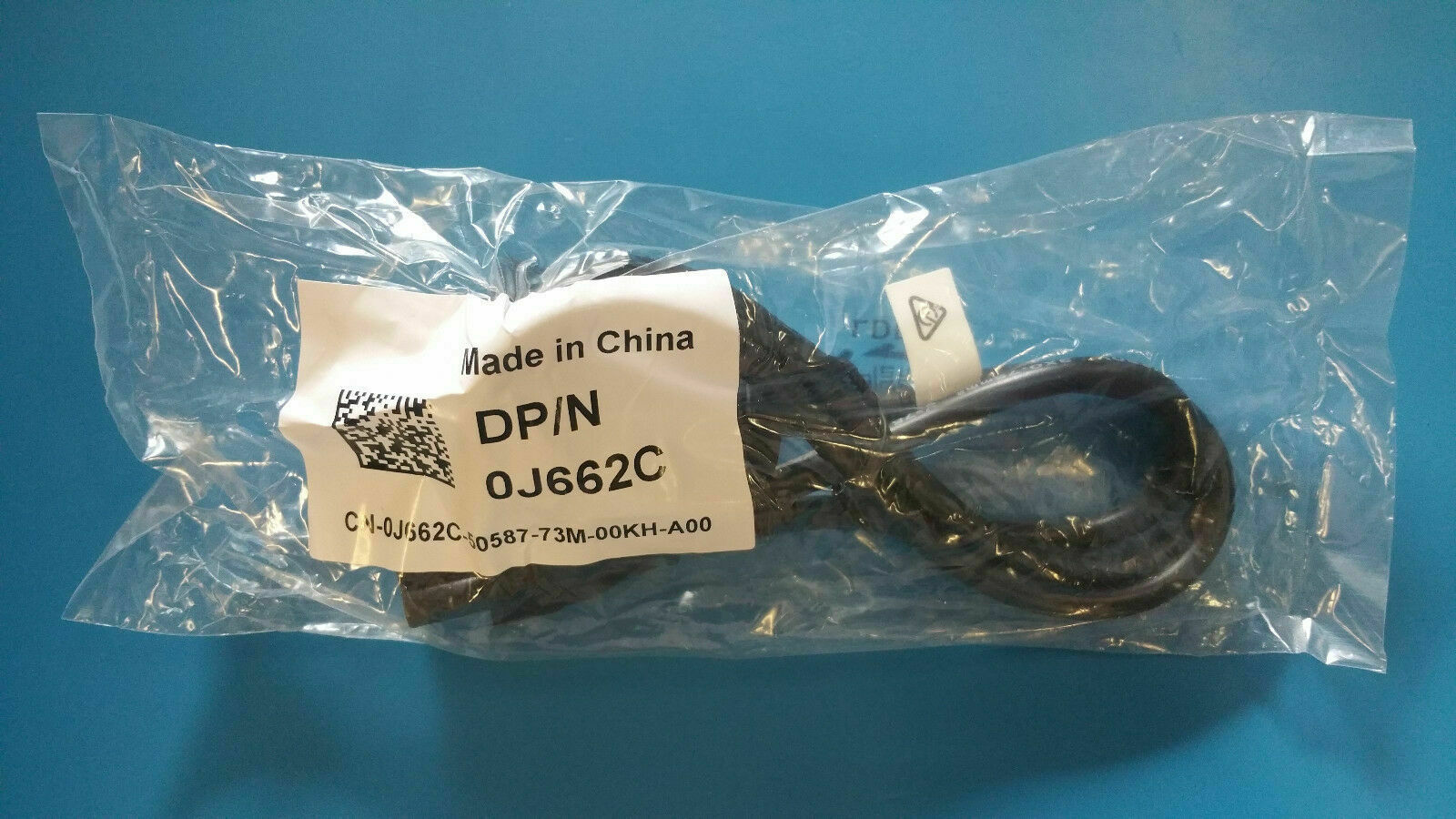 Genuine Dell Power Cord for Power Adapter (IEC-C5 3 PIN) 0J662C J662C