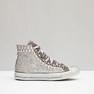 converse glitter plata