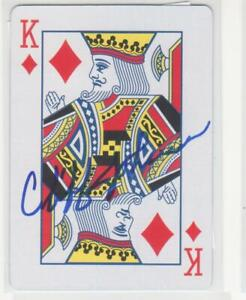 CLIFF JOHNSON NEW YORK YANKEES 1977-79 AUTOGRAPHED PLAYING CARD