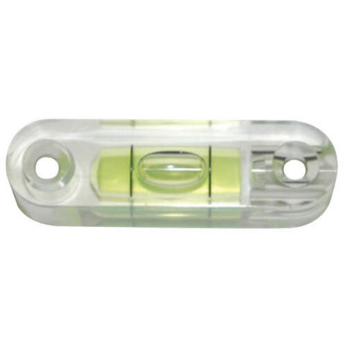 JOHNSON SM250 Level Vial,Acrylic,2.150 In L,PK10