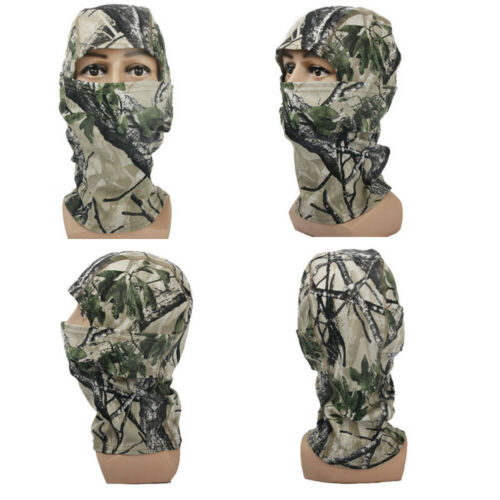 Camouflage Balaclava Face Cover Neck Sun Protection  Outdoor Sport Ski