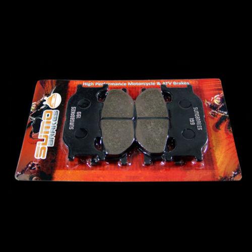 Yamaha Front Brake Rotor Pads XVS1300 V-Star 2007-2014 Check Compatibility