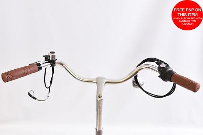 EARLY MOUNTAIN BIKE HANDLEBAR WITH 22.2mm STEM.ORIGINAL TRIANGLE DESIGN V RARE