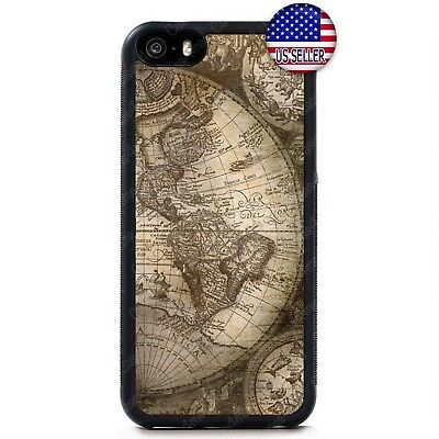 Vintage Old World Map Rubber Case Cover For iPhone 11 Pro Max Xs XR 8 Plus 7 | eBay