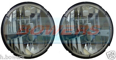 "2x LANDROVER DEFENDER 90 110 RDX FULL LED 7"" HEADLAMPS HEADLIGHTS UPGRADE RDX"