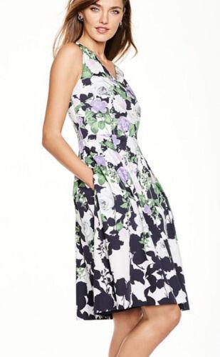 TALBOTS 'Oprah Collection' Sleeveless Floral Dress