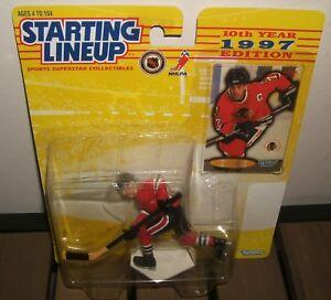 1997 Starting LineUp CHRIS CHELIOS Chicago Blackhawks SLU Hockey Action Figure