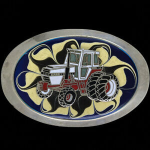 Cih Case IH International 2350 Farmer Farm Tractor 80s NOS Vintage Belt Buckle