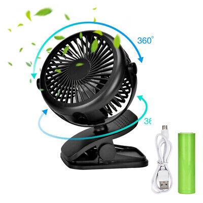 USB Clip Mini Tischventilator Schreibtisch Lüfter Stand Tisch Ventilator Kühler*