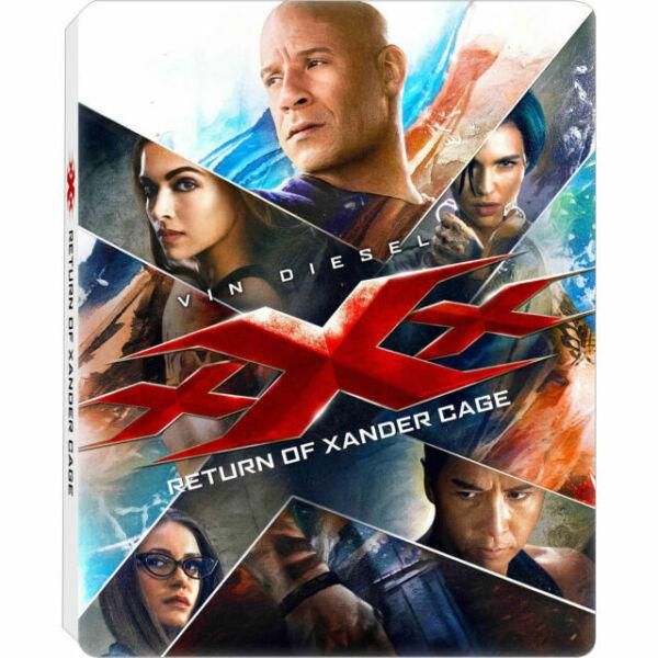 XXX Return Of Xander Cage Region A Steelbook Best Buy 4k