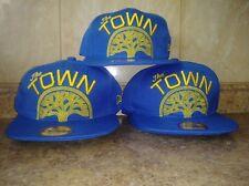 """Men/'s Cap New Era 950 Golden State Warriors /""""The Town/"""" Snapback Hat KG//GD-GD"""