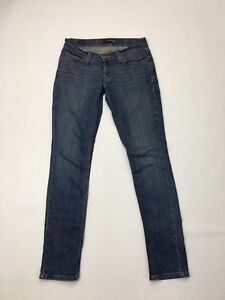 Women-039-s-Levi-524-039-Too-Superlow-039-Jeans-W28-L32-Navy-Wash-Great-Condition