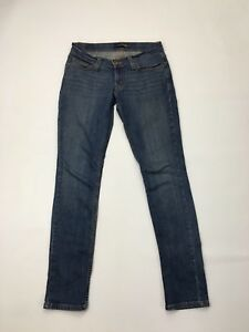 Women's Levi 524 'Too Superlow' Jeans - W28 L32 - Navy Wash - Great Condition