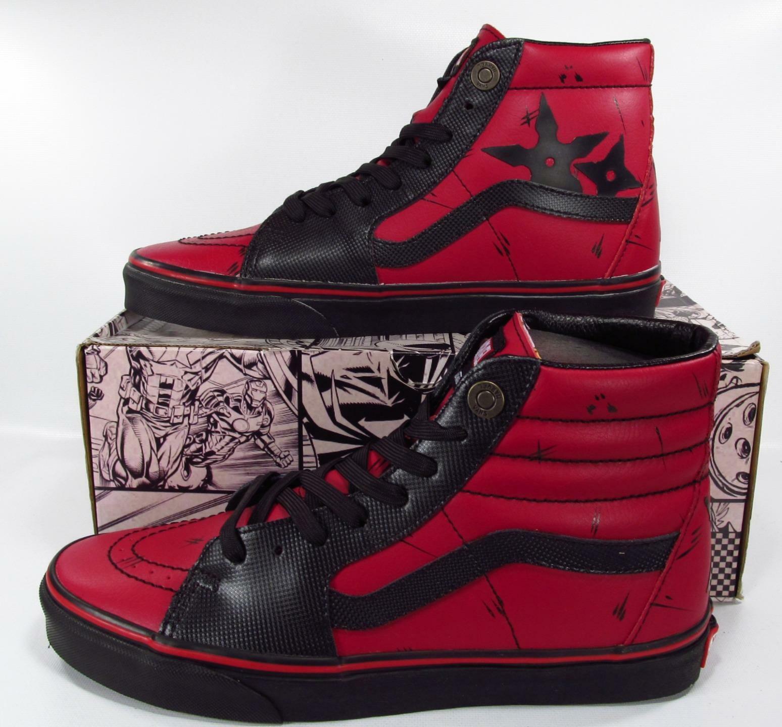 Vans Deadpool Dead Pool Sk8-Hi Leather - tiendamia.com