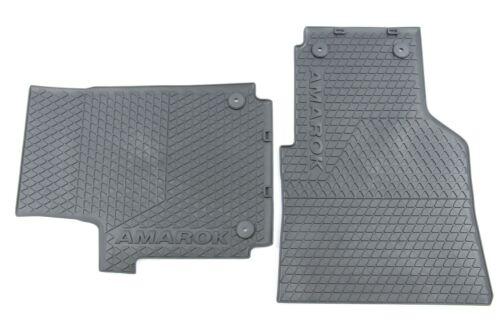 Originales de VW goma tapices-set delantero negro Amarok 2h1061501 041//2h1061502 82v
